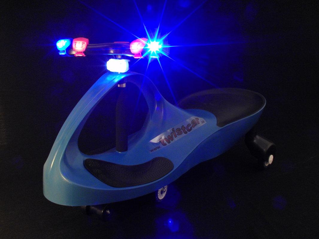 Blått LED-lyse, 2-pack