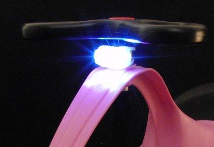 Vitt LED-lyse